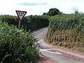 Lane junction - geograph.org.uk - 1393650.jpg