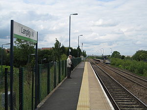 Langley Mill railway station - Image: Langley Mill Station