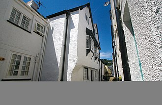 Looe - Example of Elizabethan house in East Looe