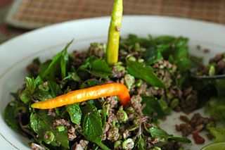 Larb National dish of Laos