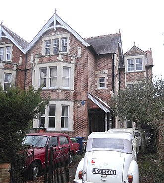 Polstead Road - Lawrence of Arabia's childhood home from 1896 to 1921 at 2 Polstead Road.