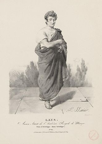 François Lays - Lays, in the role of Aristippe in the opera Aristippe by Rodolphe Kreutzer