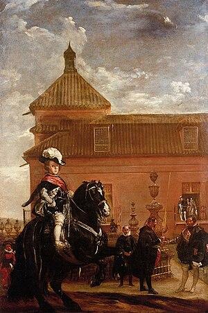 Lección de equitación del príncipe Baltasar Carlos, by Diego Velázquez.jpg