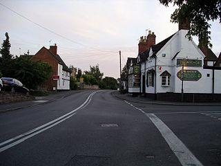 Leek Wootton human settlement in United Kingdom