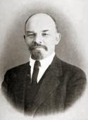 Foto Lenin pada 1916, ketika di Swiss