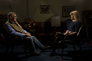 Martha Raddatz - Raddatz interviewing United States Secretary of Defense Leon Panetta in January 2013