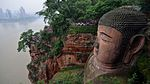 Leshan Giant Buddha from above on the South side..jpg