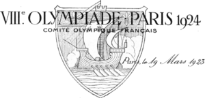 Sailing at the 1924 Summer Olympics - Image: Letterhead VII Ie Olympiade Paris 1924