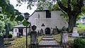 Leutenberg Schloßstraße Cyriakskapelle mit Ausstattung, Friedhof mit Ummauerung Tor und Erbbegräbnisse Triebel, Fischer und Neumeister, Grabstein Emil Schmidt.jpg