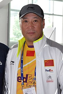 Li Yongbo Badminton player