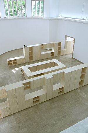 Liam Gillick - Installation in the German Pavilion, 2009