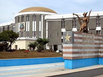 Senate of Liberia - Image: Liberian Capitol Building
