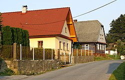 New and old house in Liberk