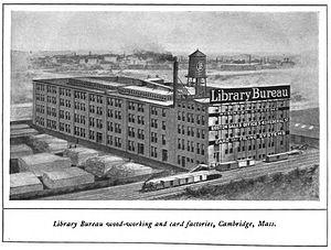 Nina Browne - Boston's Library Bureau, Cambridge, Massachusetts