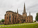 Lichfield Cathedral Exterior from NE, Staffordshire, UK - Diliff.jpg