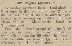 Limburgsch Dagblad vol 006 no 157 Mr. August Mostart.jpg