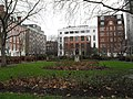 Lingering leaves in Queen Square - geograph.org.uk - 1657475.jpg
