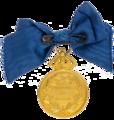 Litteris et Artibus- medalj med Gustav V revers.png