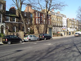 Liverpool Road - Towards north end of Liverpool Road