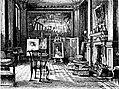 """Lo studio di Millais in Palace Gate - Disegno pubblicato su """"The Graphic"""" - Aprile 1877.jpg"""
