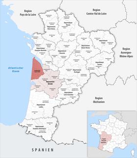 Arrondissement of Lesparre-Médoc Arrondissement in Nouvelle-Aquitaine, France