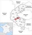 Locator map of Kanton Boulogne-Billancourt-2.png