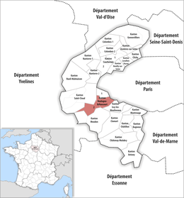 Locator map of Kanton Boulogne-Billancourt-2.png