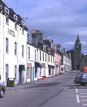 Lochgilphead - Image: Lochgilphead 1