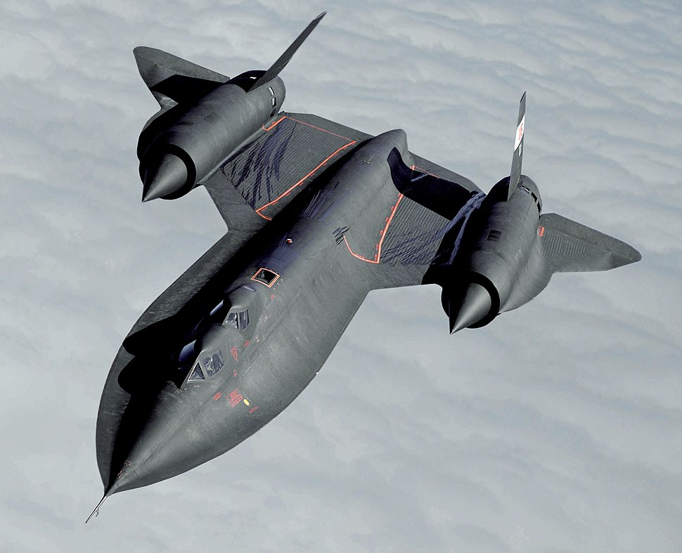 Lockheed SR-71 Blackbird (modified)
