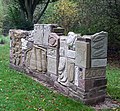 Lockside Sculpture, Caldon Canal, Stockton Brook, Staffordshire - geograph.org.uk - 600440.jpg