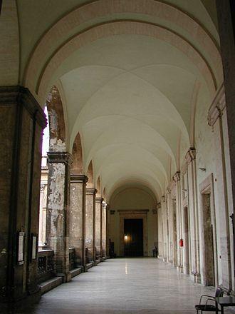 Roman College - Image: Logge Collegio Romano