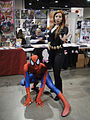 Long Beach Comic & Horror Con 2011 - Spider-Man and Black Widow (6301699932).jpg