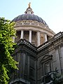 Looking up at St Paul's Cathedral, St Paul's Churchyard EC4 - geograph.org.uk - 1275132.jpg