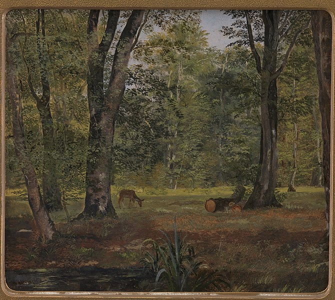 File:Lorenz Frølich - Charlottenlund Wood, North of Copenhagen - KMS7031 - Statens Museum for Kunst.jpg