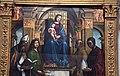 Lorenzo costa, Madonna in trono e santi, 1497, 02.JPG