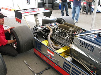 Lotus 81 - Lotus 81 engine and transmission