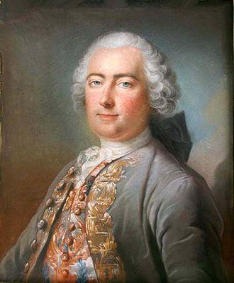 Les Jonquerets-de-Livet - Louis-François de Livet, Chevalier, Marquis de Barville, 1766. Buried at Bazoques in 1789.