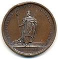 Louis XV, Couronnement 1722, Médaille par Michel Rög Rev.jpg