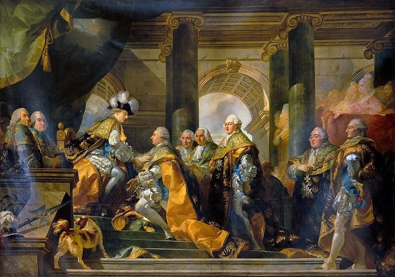 Fichier:Louis XVI Chevaliers du Saint-Esprit.jpg