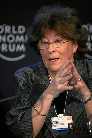 Louise Arbour - Image: Louise Arbour World Economic Forum Annual Meeting 2011