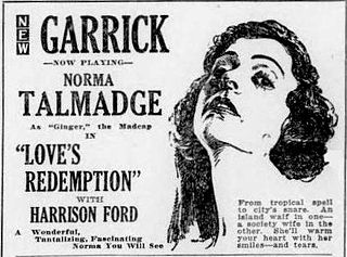 <i>Loves Redemption</i> 1920 film