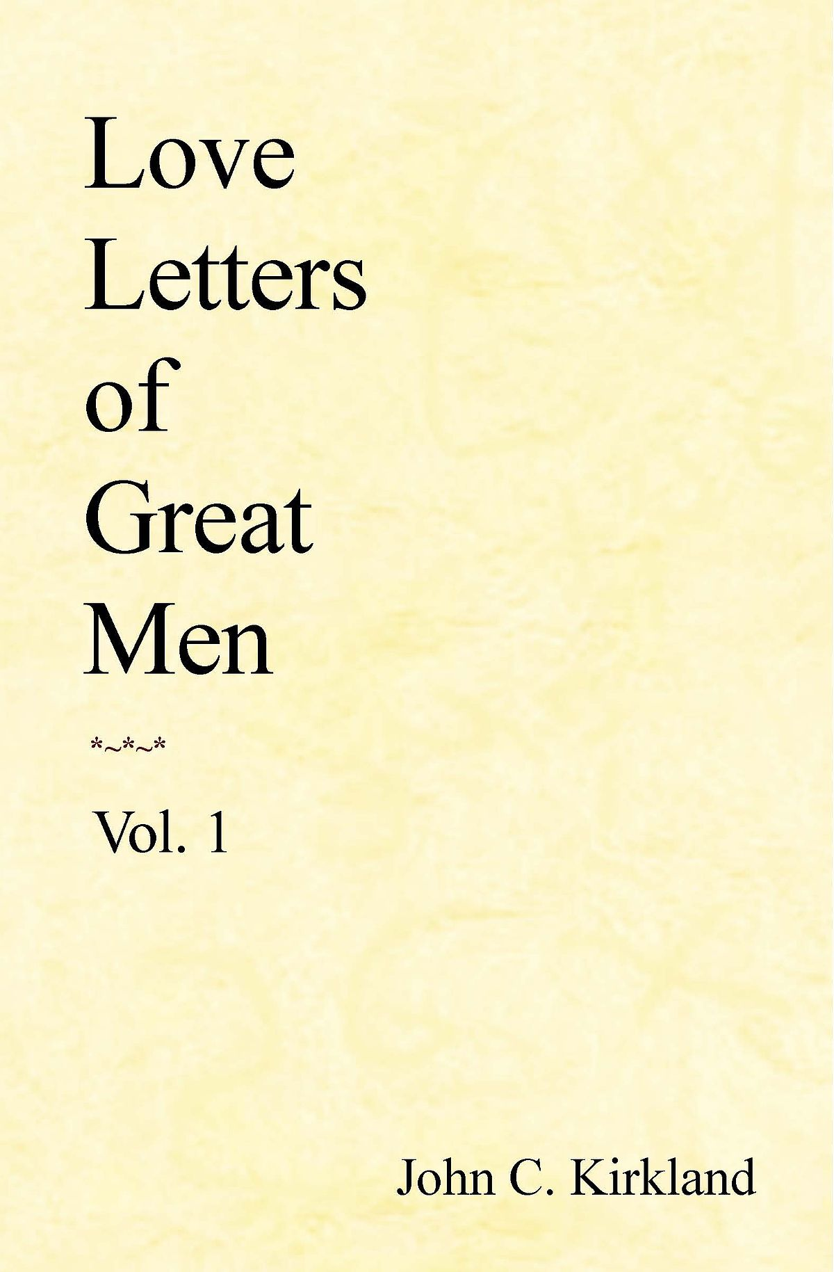 love letters of great men wikipedia