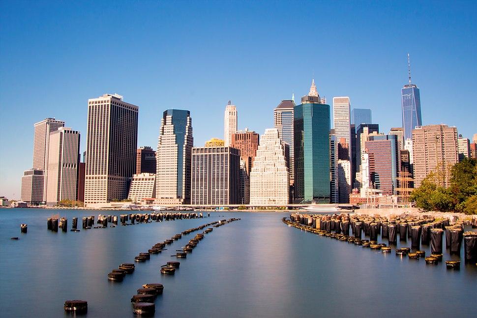 Lower Manhattan viewed from Brooklyn