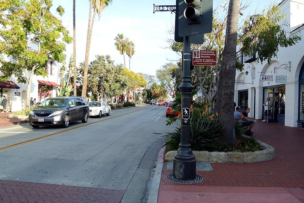 Lower State St Santa Barbara