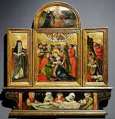 Triptych of the Dormition of Mary