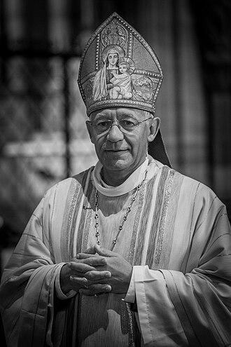 Roman Catholic Archdiocese of Strasbourg - Image: Luc Ravel par Claude Truong Ngoc novembre 2014