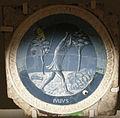 Luca della robbia, mesi per lo studietto di piero de' medici, 1450-56, luglio.JPG