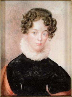 Litchfield Female Academy - Lucy Sheldon Beach, a student of the academy, by Anson Dickinson