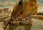 Ludwig Dill - Segelboote im Kanal.jpg