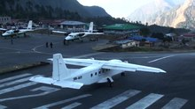 Файл:Lukla Airport Nepal Take-off and Landing in HD.ogv